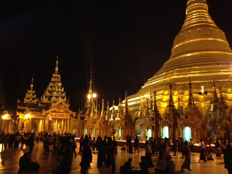 The Days 12-14 in Yangon